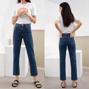 stockholm atelier & other stories mom jeans